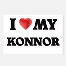 I love my Konnor Postcards (Package of 8)