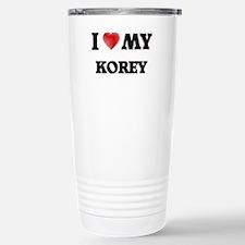 I love my Korey Stainless Steel Travel Mug