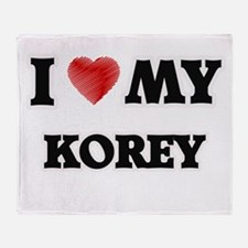 I love my Korey Throw Blanket