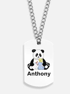 Anthony's Little Panda Dog Tags