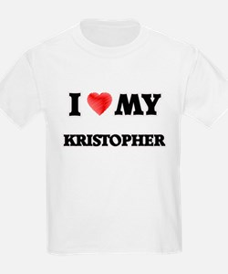 I love my Kristopher T-Shirt