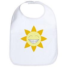 Be Happy SunFlower Bib