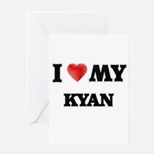 I love my Kyan Greeting Cards