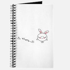 Be Happy Bunny Journal