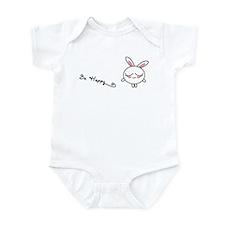 Be Happy Bunny Infant Bodysuit