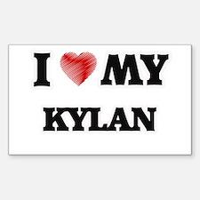 I love my Kylan Decal