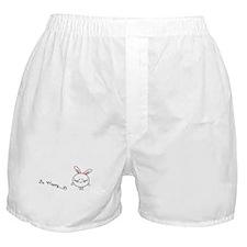 Be Happy Bunny Boxer Shorts