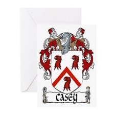 Casey Coat of Arms Greeting Cards (Pk of 20)