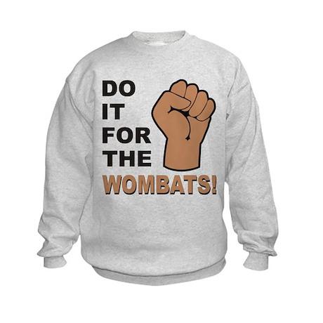 For The Wombats! Kids Sweatshirt