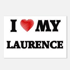 I love my Laurence Postcards (Package of 8)