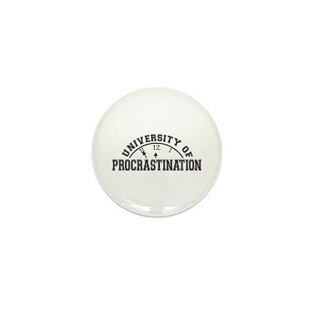Uni of Procrastination Mini Button