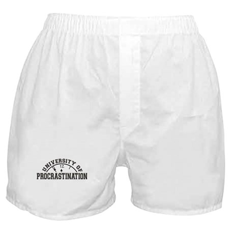 Uni of Procrastination Boxer Shorts