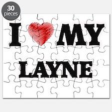 I love my Layne Puzzle