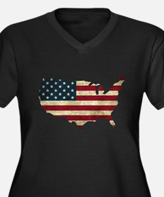 Vintage USA Plus Size T-Shirt