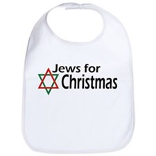 Jews for Christmas Bib