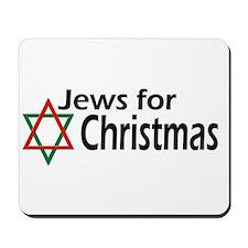 Jews for Christmas Mousepad