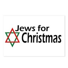 Jews for Christmas Postcards (Package of 8)