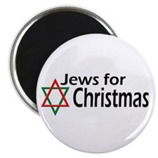 """Jews for Christmas 2.25"""" Magnet (10 pack)"""