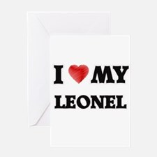 I love my Leonel Greeting Cards