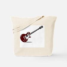 Cute Guitar gibson Tote Bag