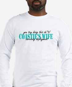 you try doing this sh*t! Long Sleeve T-Shirt