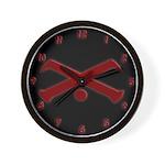 Vision Symbol Wall Clock