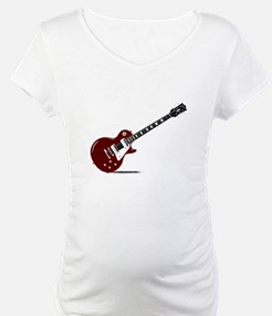 Isolated Rock Guitar Shirt