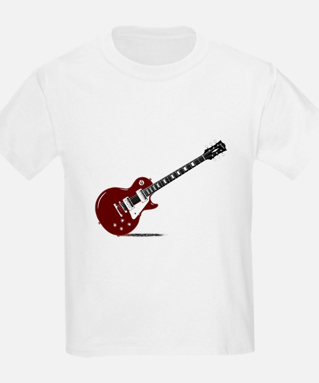 Isolated Rock Guitar T-Shirt