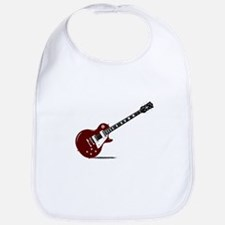 Isolated Rock Guitar Bib