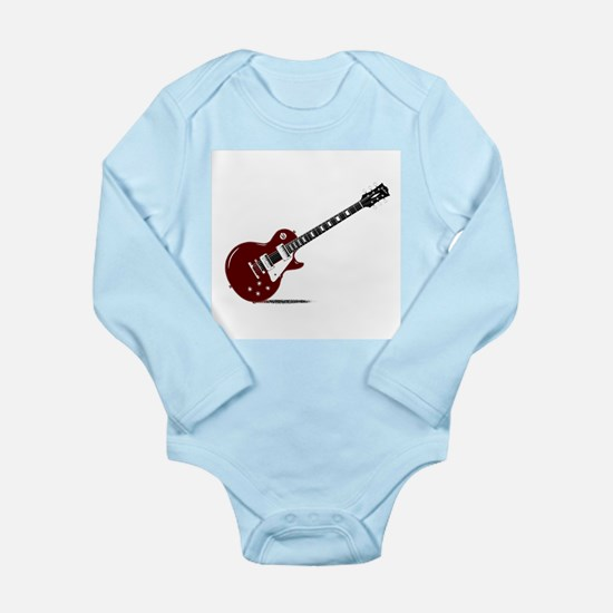Isolated Rock Guitar Body Suit