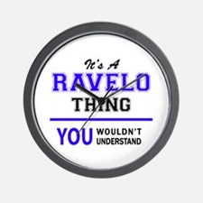 It's RAVELO thing, you wouldn't underst Wall Clock