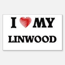 I love my Linwood Decal