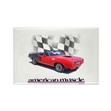 Cuda Muscle Rectangle Magnet