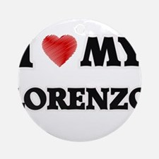 I love my Lorenzo Round Ornament