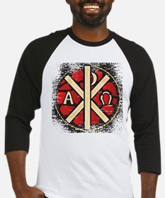 Alpha Omega Stained Glass Baseball Jersey