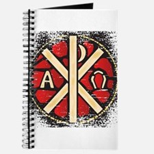 Alpha Omega Stained Glass Journal