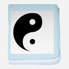 Yin Yang baby blanket