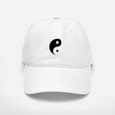 Yin Yang Baseball Baseball Cap