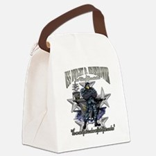 Cute Dwight Canvas Lunch Bag