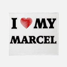 I love my Marcel Throw Blanket