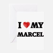I love my Marcel Greeting Cards