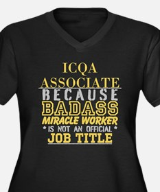 Personalize Work Plus Size T-Shirt