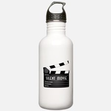 Silent Movie Clapperbo Water Bottle