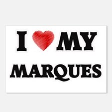 I love my Marques Postcards (Package of 8)