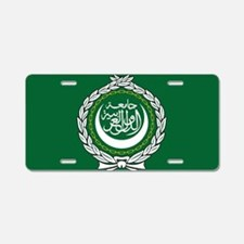 Flag of the Arab League Aluminum License Plate