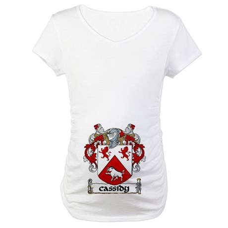 Cassidy Coat of Arms Maternity T-Shirt