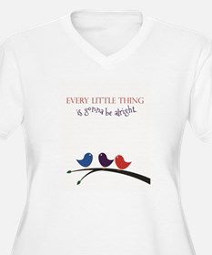 Three Little Plus Size T-Shirt