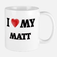 I love my Matt Mugs