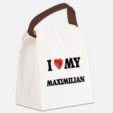 I love my Maximilian Canvas Lunch Bag