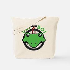 Dat Boi Frog Retro Tote Bag